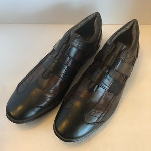 """Bacco Bucci Leather Casual Slip-Ons """"Quentin"""""""